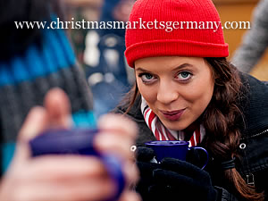 Glühwein at the Christmas markets